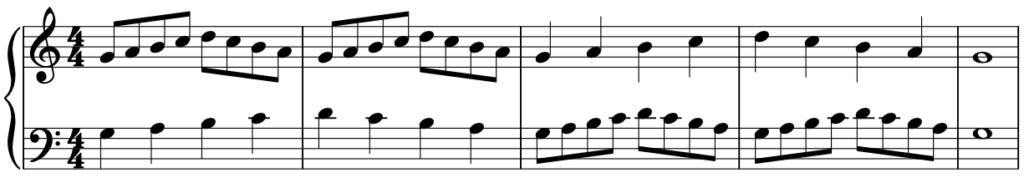 jak grać na pianinie dwoma rękoma